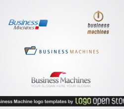 Business Machine Logo Template