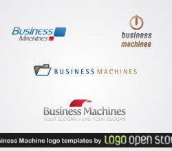 Business Machine Logo Template