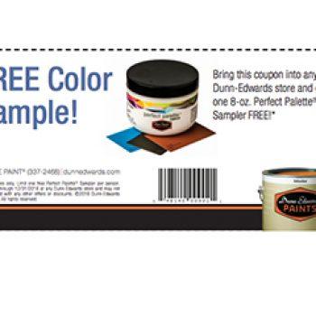 Dunn Edwards Free Color Sample Zeenla