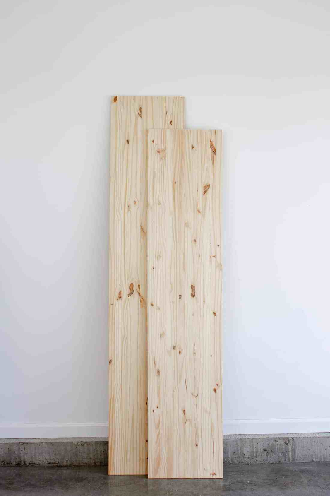 Mastercraft edge-glued pine project panels in 6' and 8' lengths