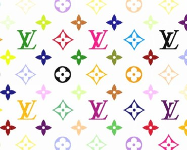 Louis Vuitton Patterns On White Background