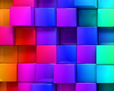 3D Colorful Cubes