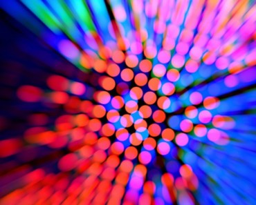 Colorful Laser Spots