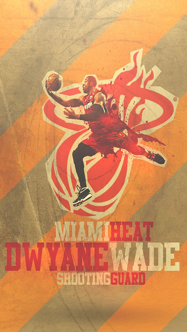 miami heat dwyane wade iphone 6 6 plus and iphone 54