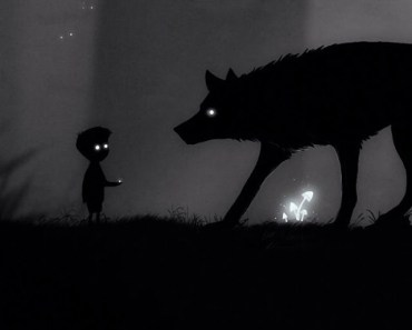 Kid and Wolf At Night