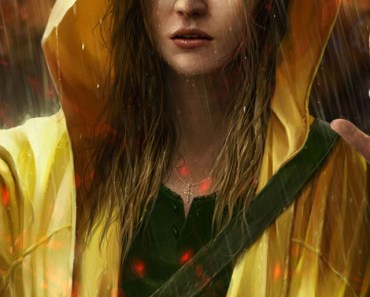 Crying Girl In The Rain