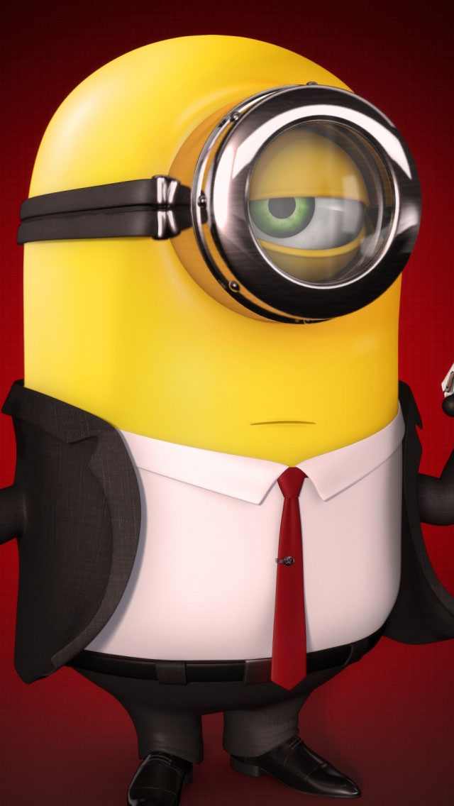 Despicable Me Minion Hitman iPhone 6 / 6 Plus and iPhone 5 ...