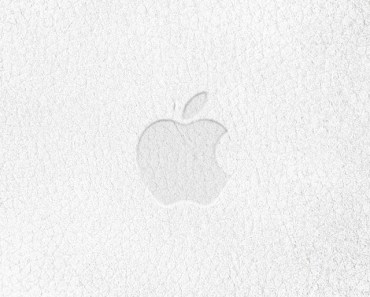 Grey Paper Apple Logo