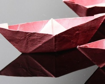 Red Paper Boat