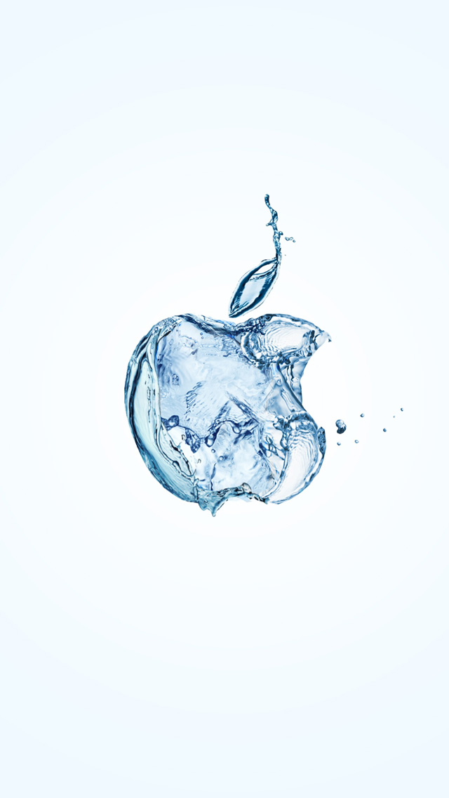 Water Apple Logo IPhone 6 Plus And 5 4 Wallpapers