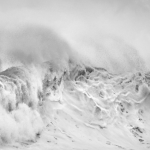 Big Wave Black and White