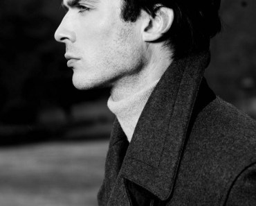 Black and White Ian Joseph Somerhalder