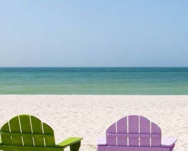 Colored Beach Chairs