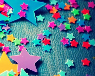 Colorful Plastic Stars
