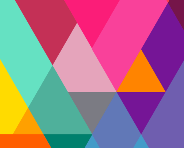 Flat Color Gradient Triangles