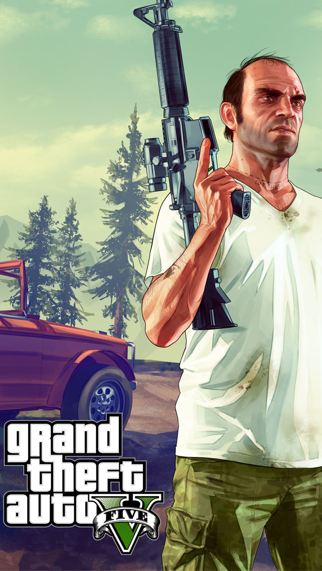 Grand theft auto v wallpaper iphone allofpicts grand theft auto v wallpaper free iphone wallpapers voltagebd Image collections