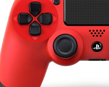 Sony Playstation 4 Red Controller