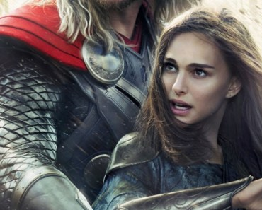 Thor and Jane Foster In Thor 2 The Dark World