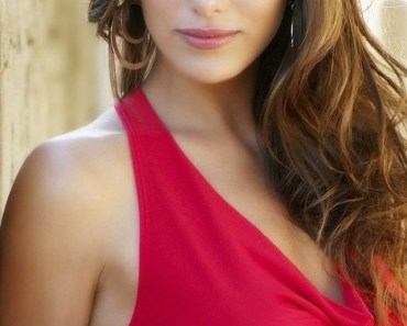 Anahi Gonzales Red Dress