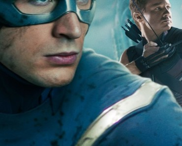 Captain America and Hawkeye The Avengers