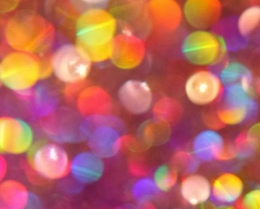 Colorful Glitter Bokeh