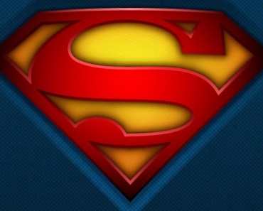 Fabric Superman Logo