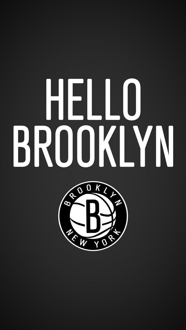 Hello Brooklyn Nets IPhone 6 Plus And 5 4 Wallpapers