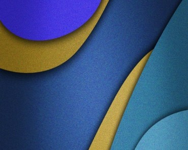 Blue Overlapping Shapes