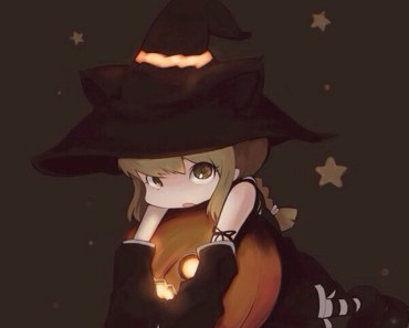 Cartoon Little Witch