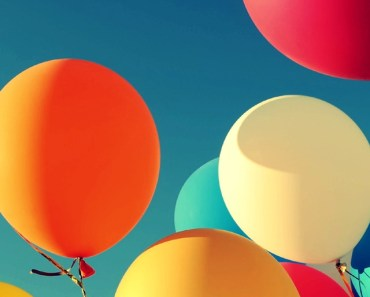 Colorful Balloons Under The Sunshine