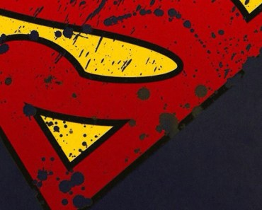 Grunge Superman Logo