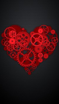 Red Heart of Gears