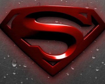 3D Red Superman Logo