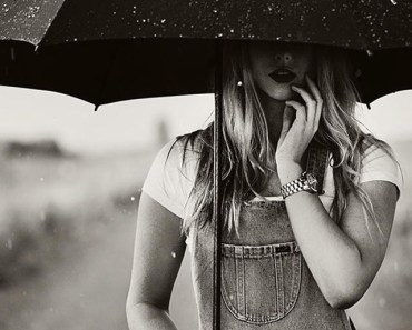 Girl Umbrella Rain