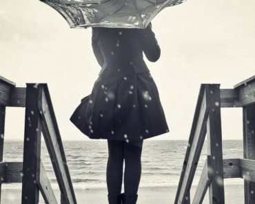 Lonely Girl Umbrella