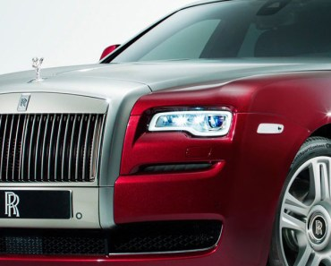 Rolls Royce Red