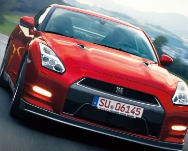 Nissan GTR Sports Car Red