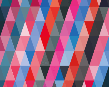 Colorful Gradient Triangles