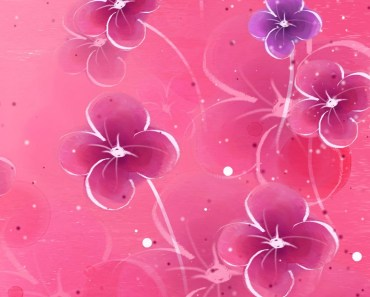 Fantasy Pink Flowers
