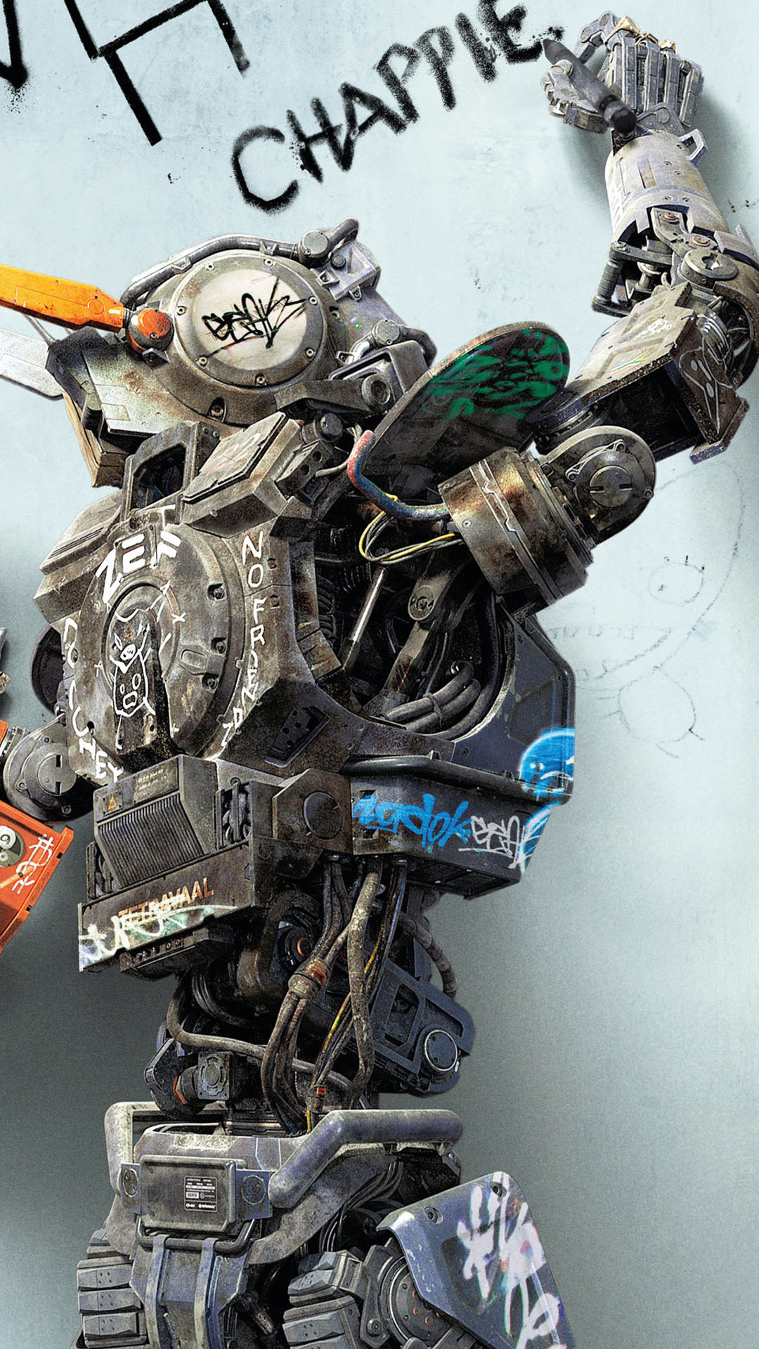 Chappie Movie 2015 Wallpaper Free IPhone Wallpapers