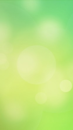 Green Gradient Bokeh