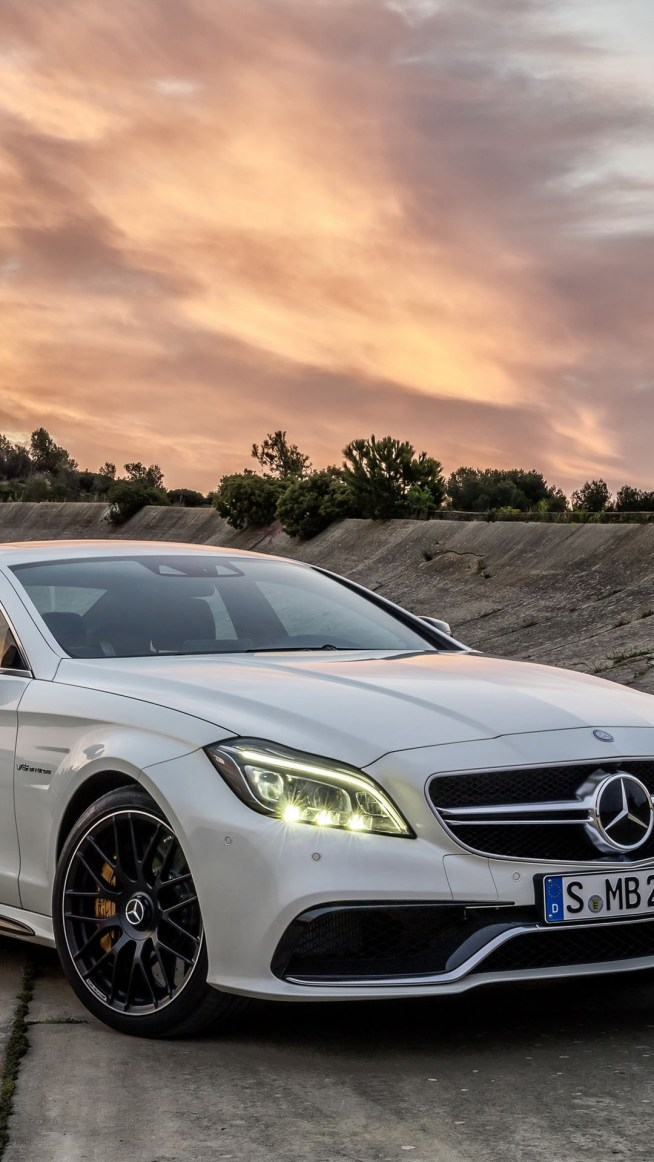 Mercedes Benz Cls 63 Amg Iphone 6 6 Plus And Iphone 5 4 Wallpapers
