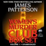 Women's Murder Club by James Patterson Box Set Book 1-3 Audiobook