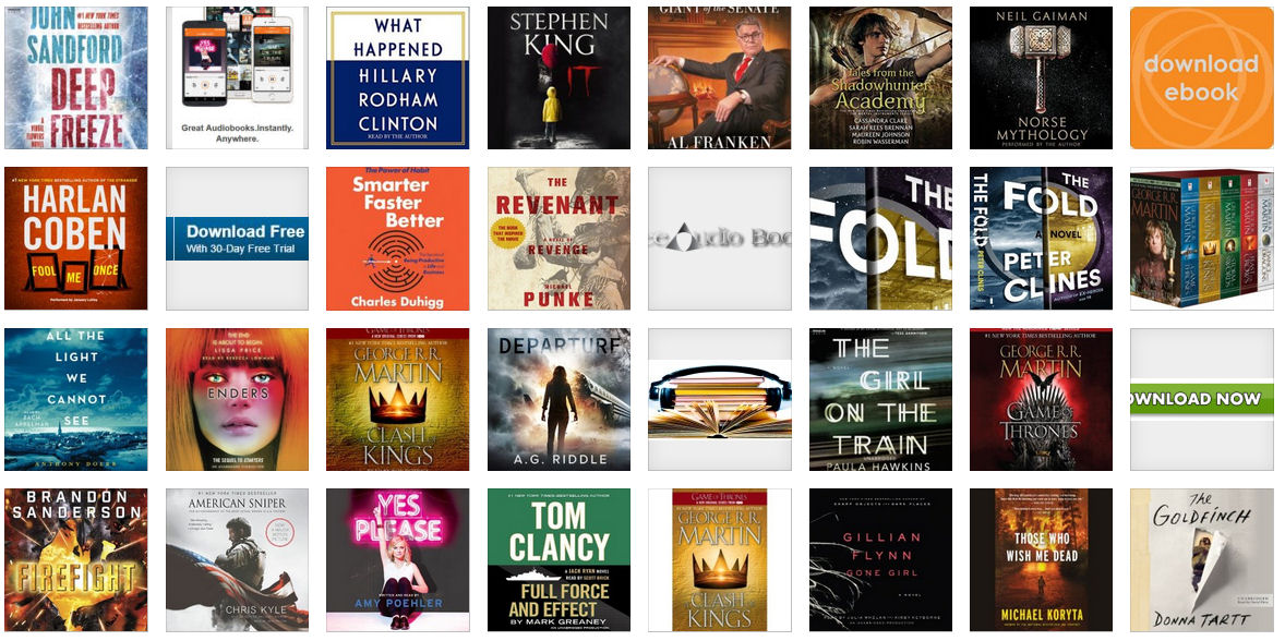 The Best Audiobooks Of 2017 | Free Download