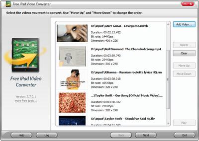 ipad video converter free