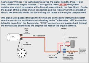 Tach pickup wire  FreeAutoMechanic Advice