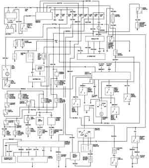 1981 Honda Accord California Engine Wiring Diagram