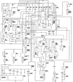 1981 Honda Accord Engine Wiring Diagram  FreeAutoMechanic