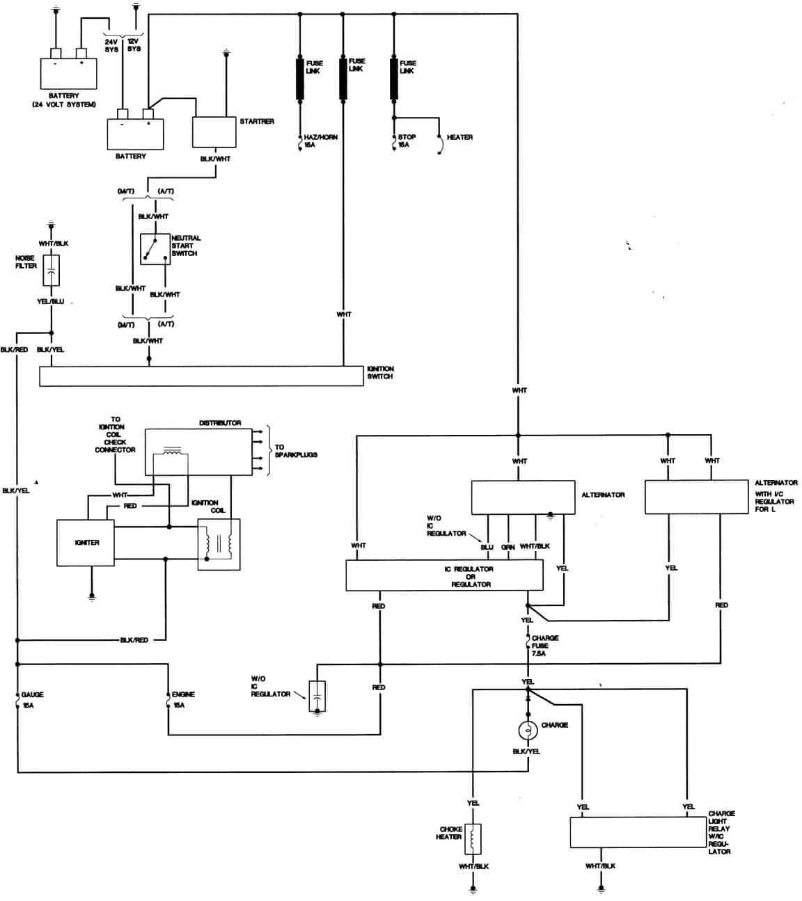 Toyota Alternator Wiring Diagram Furthermore 85 Toyota Pickup Wiring