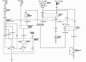 Air conditioning wiring diagram for 1989 Dodge Dakota